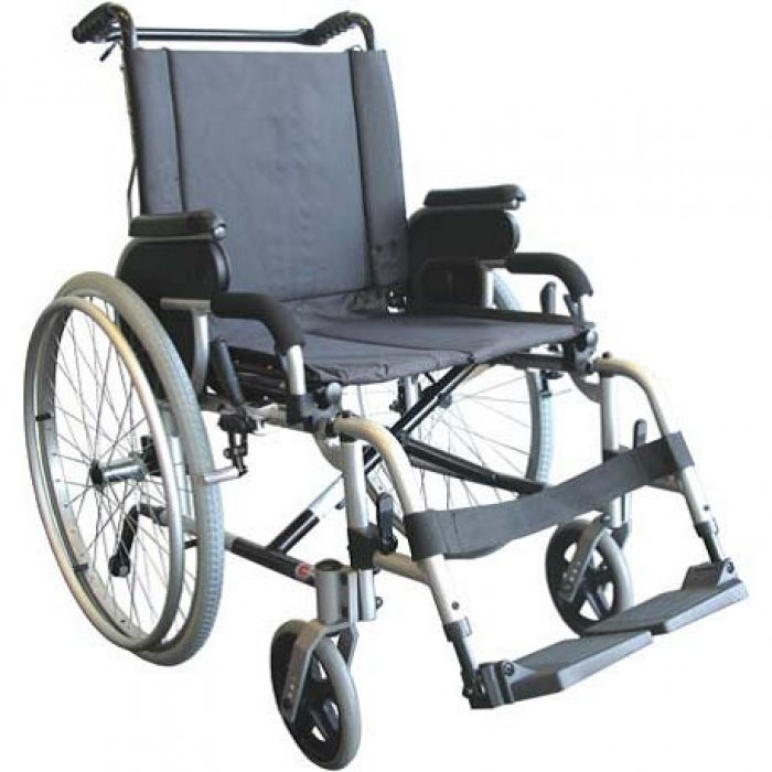 FAUTEUIL ROULANT PLIABLE DOSSIER INCLINABLE